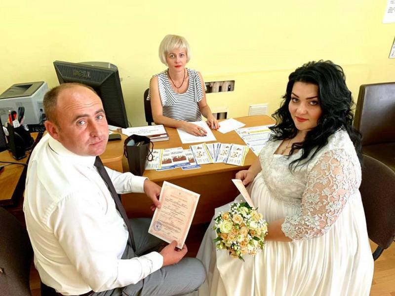 В останній день літа у Ковелі одружилися Михайло та Юлія
