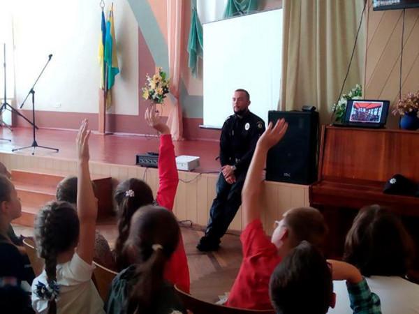 У Ковелі поліцейські зустрілися зі школярами