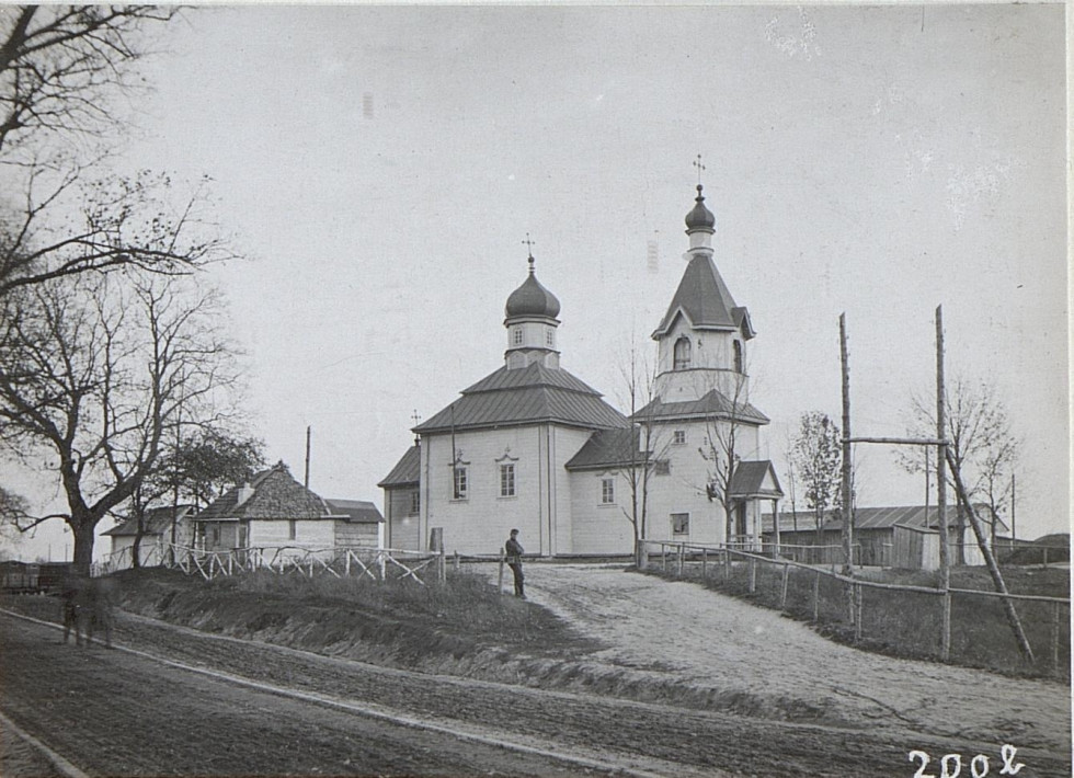 Храм в селі Черемошне, 1917 р.