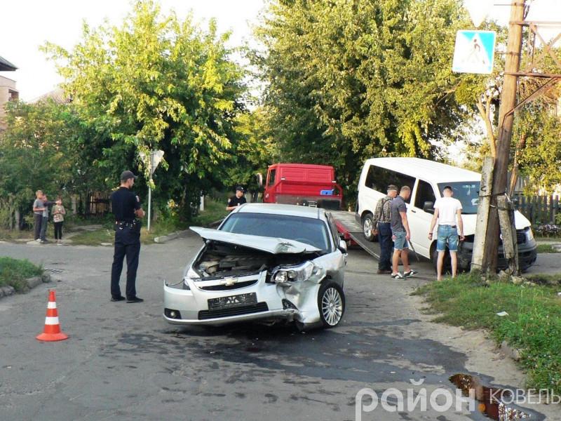 Розбився автомобіль головного лікаря Ковельського МТМО