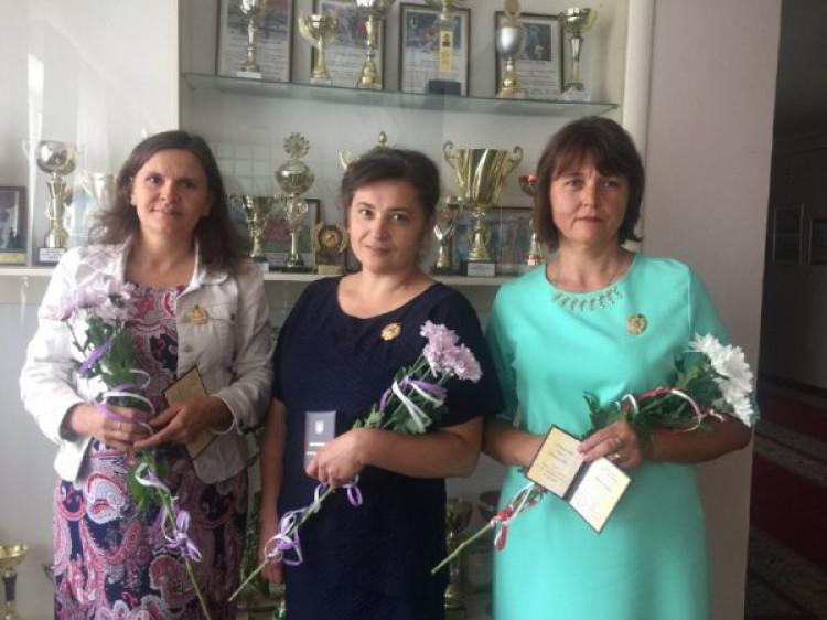 Надія Новосад, Леся Данилюк та Ольга Тищук