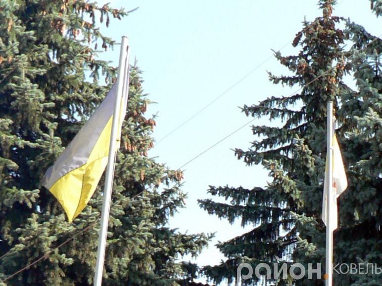 Ковельські рятувальники змушені були зняти брудні прапори