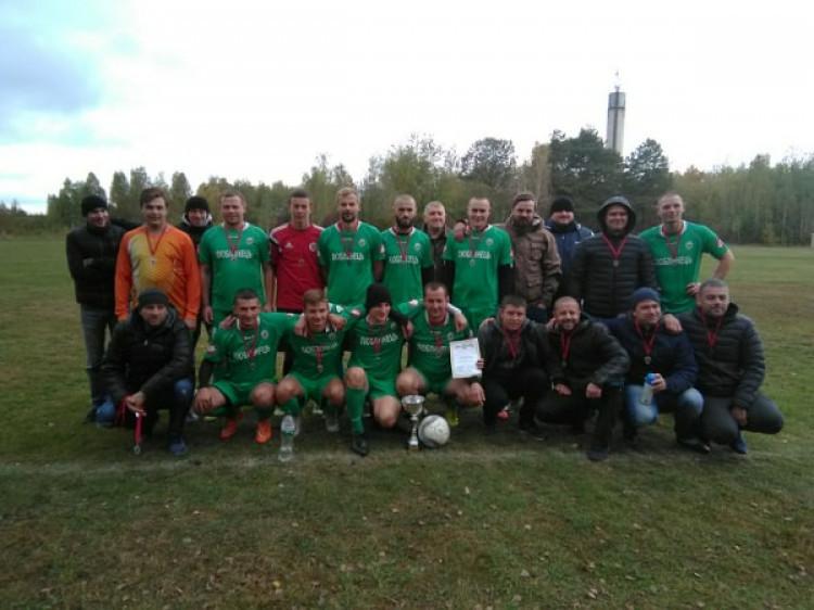 Люблинецький «Бетон» став срібним призером Кубка району з футболу