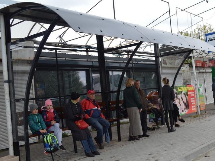 Зупинка біля Брестського ринку