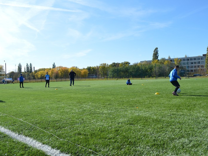 У Ковелі відкрили нове футбольне поле зі штучним покриттям