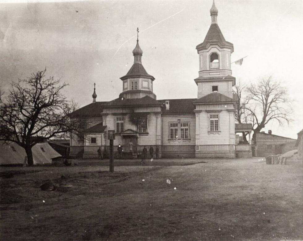 Храм в селі Погіньки, 1917 р.