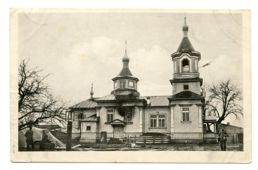 Храм в селі Погіньки, 1914-1918 рр.