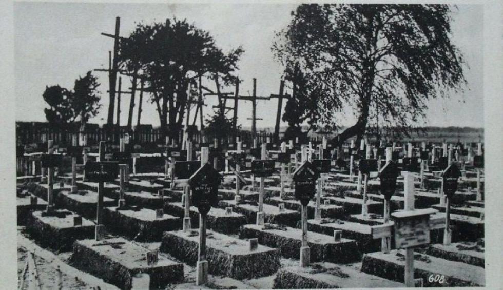 Кладовище часів Першої світової війни, с.Погіньки.