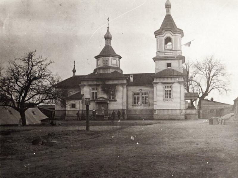 Як виглядав храм у Погіньках 100 років тому