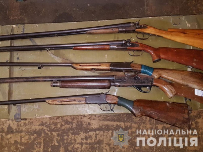 Вогнепальна зброя, яку добровільно здали волиняни