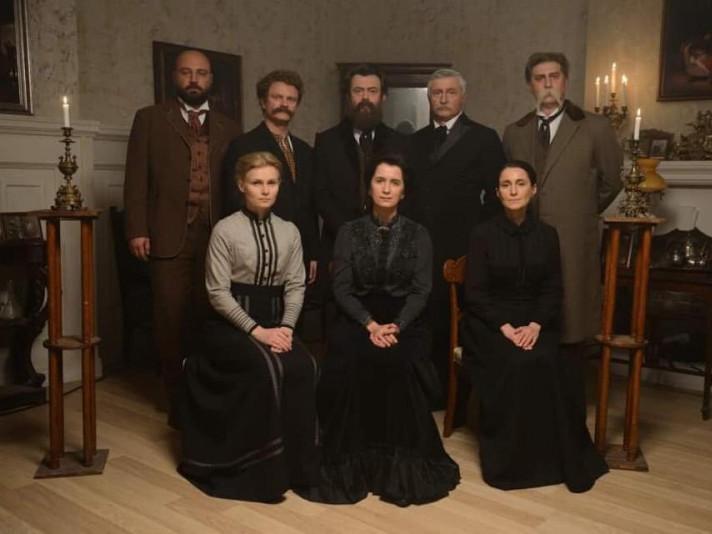 Фото із зйомок серіалу