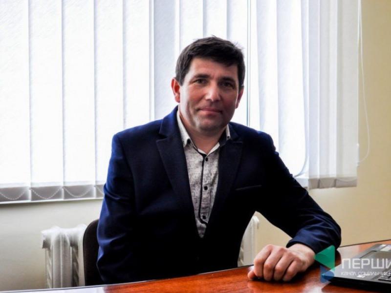 Дубівський сільський голова Роман Троцюк