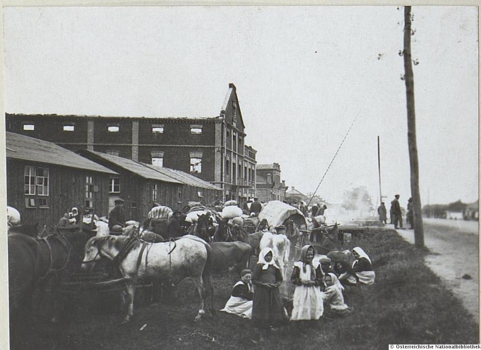 Евакуація з Ковеля у 1915-1916 роках