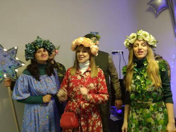 Талановиті жителі Люблинця заспівали сучасну щедрівку