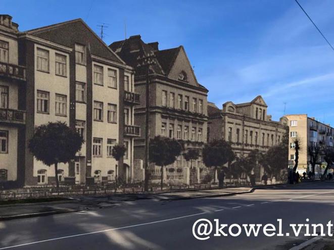 Будинки, які були у Ковелі в 30-ті роки