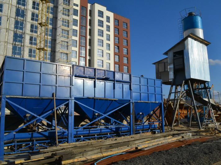 У ЖК «Варшавський» виробляють власний бетон