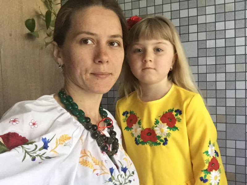 Інна Чонка з донькою
