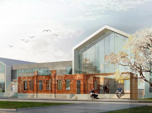 Архітекторка з Ковеля пропонує замість старого єврейського будинку збудувати школу мистецтв