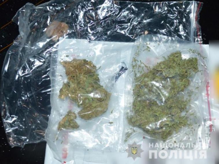 У Ковелі затримали 23-річного юнака з марихуаною