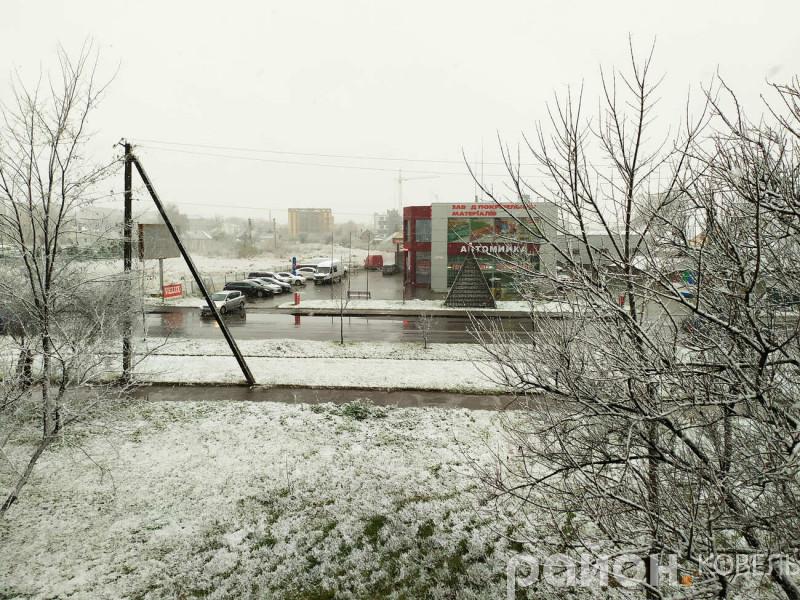 Перший сніг у Ковелі