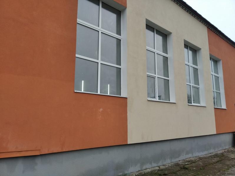 У Люблинці в опорній школі відремонтували спортзал