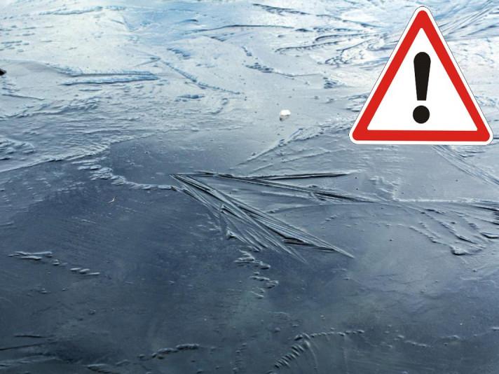 Тонкий лід / Фото ілюстртативне