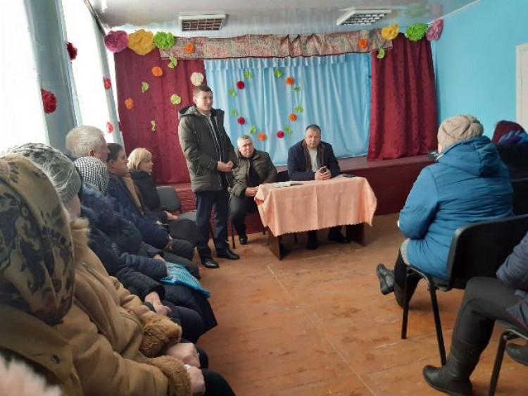 У новоприєднаних селах Колодяжненської громади представили старост