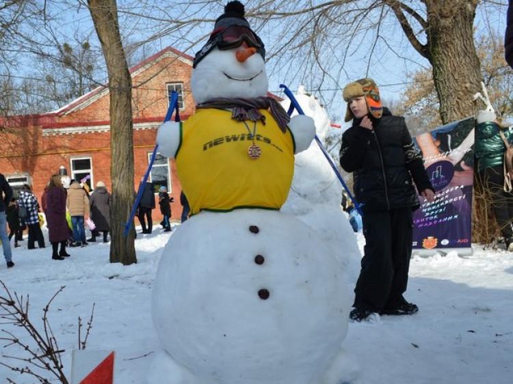 У Ковелі відбувся конкурс на найкреативнішого сніговика
