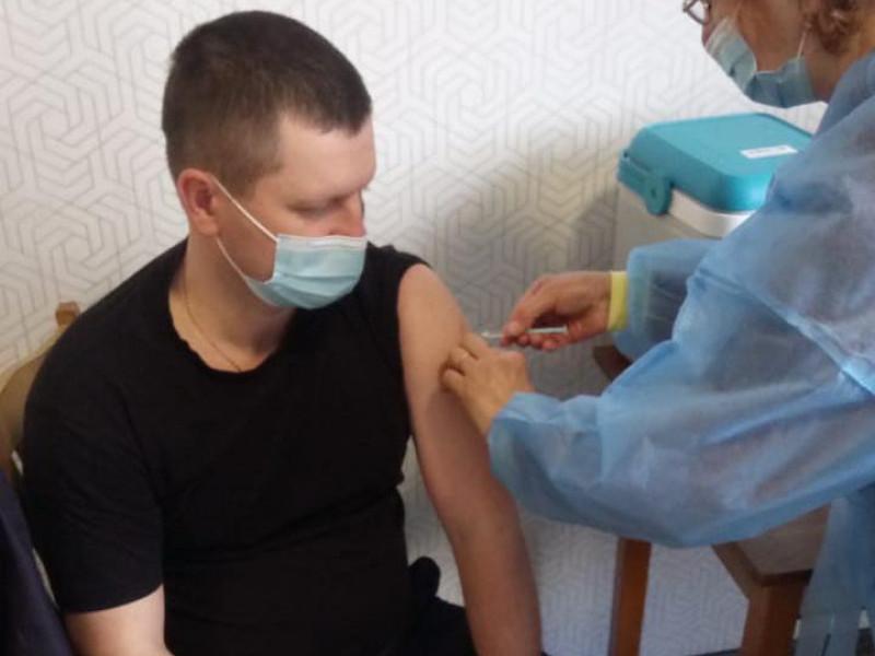 У Ковелі вакцинували поліцейських