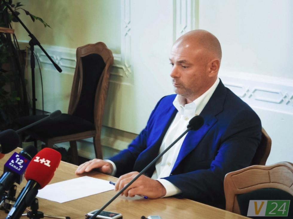 Прес-конференція Ігоря Палиці тривала близько півтори години