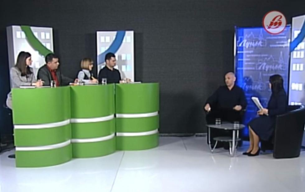 Приїхавши на Волинь, Ігор Палиця вирішив публічно поспілкуватися з мешканцями: в ефірі телеканалу «Волинь»