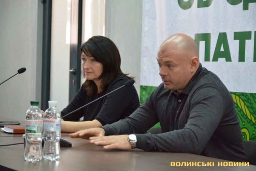 Під час березневого візиту на Волинь Ігор Палиця зустрівся із своєю командою: УКРОПом та Фондом «Тільки разом»