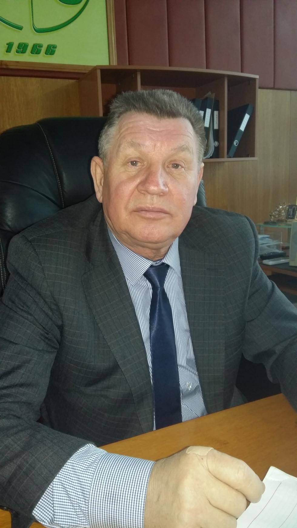 Президент ТзОВ «ВО «Ковельсільмаш» Микола Заікін