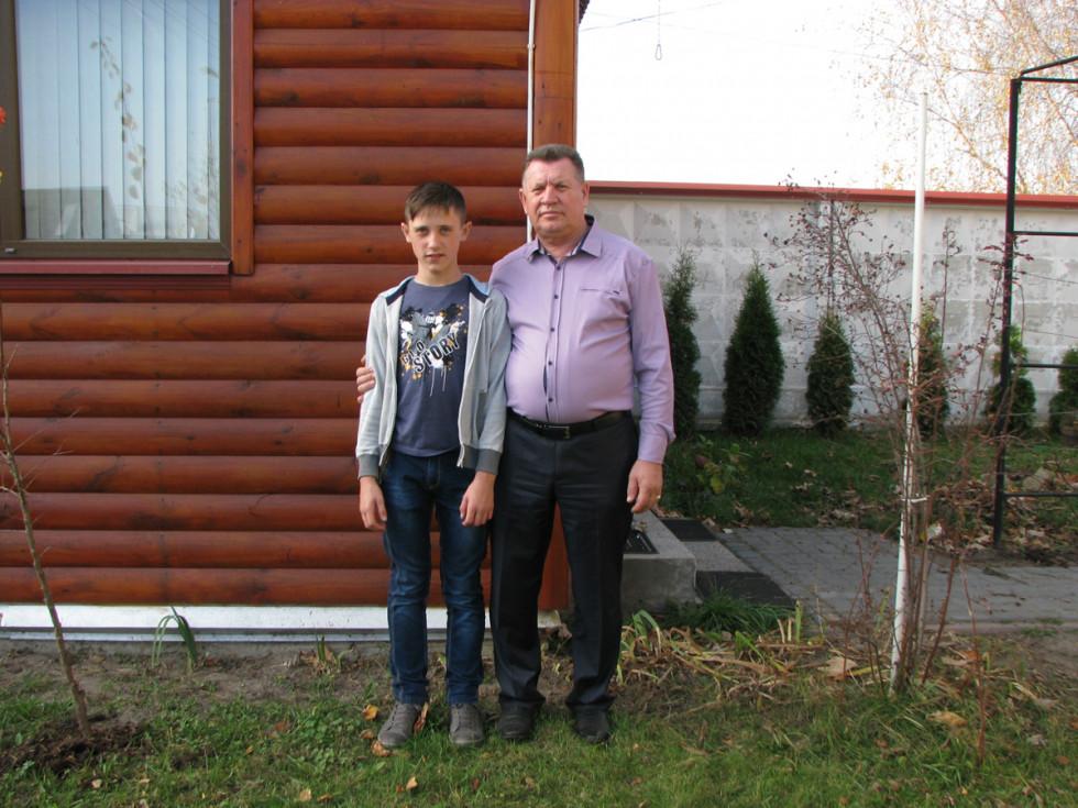 з онуком Владиком