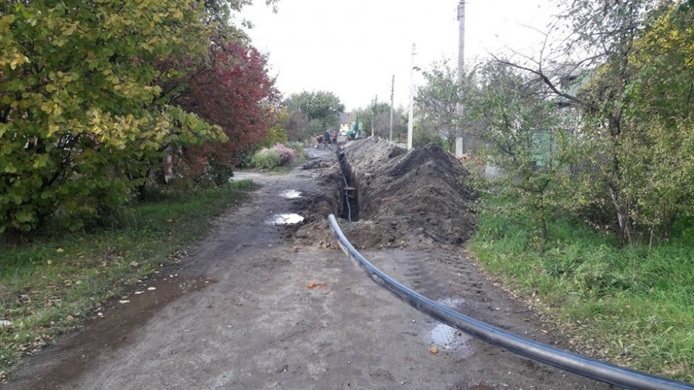 Прокладання водопровідної мережі на «другому Ковелі»