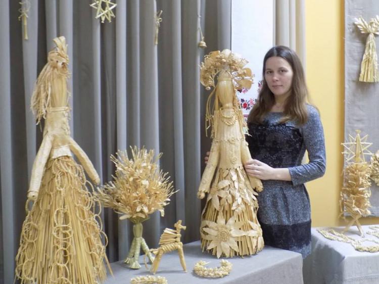 Автор виставки, Інна Чонка