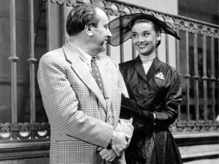 Михайло Вашинський із Одрі Хепберн, 1962