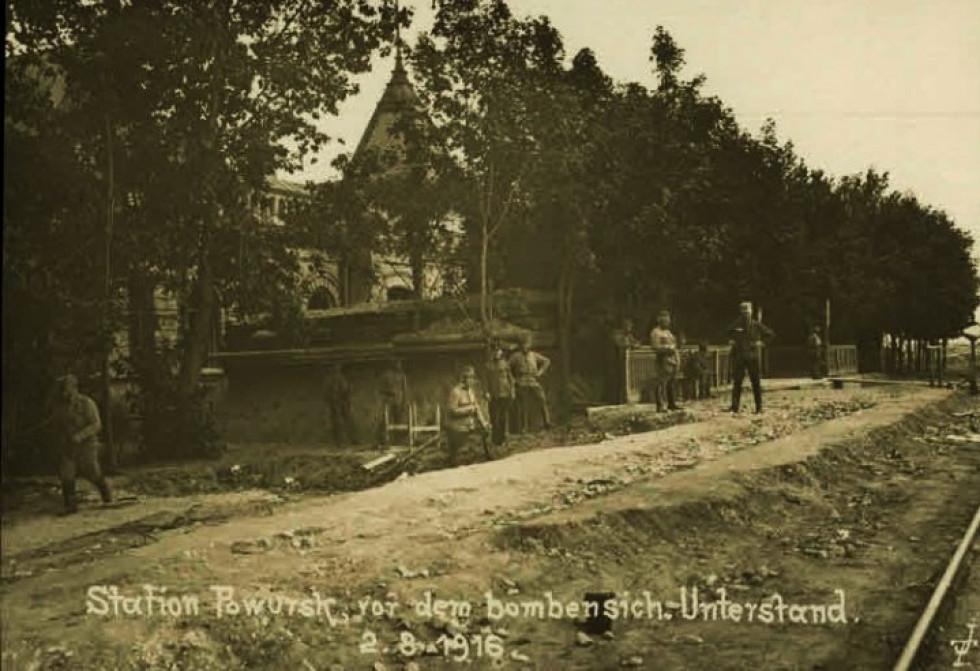 Село Поворськ, 1914-1918 рр.