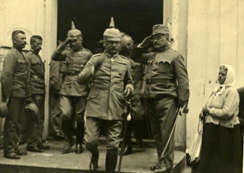 Австрійські та німецькі офіцери в Ковелі, 1914-1918 рр.