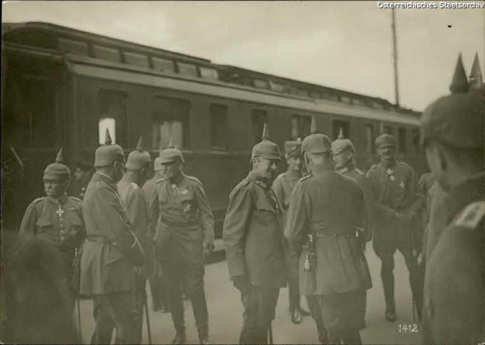 Турецький султан в Ковелі, 1914-1918 рр.