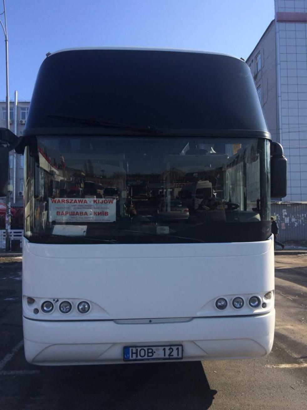 Автобус «Варшава - Київ»