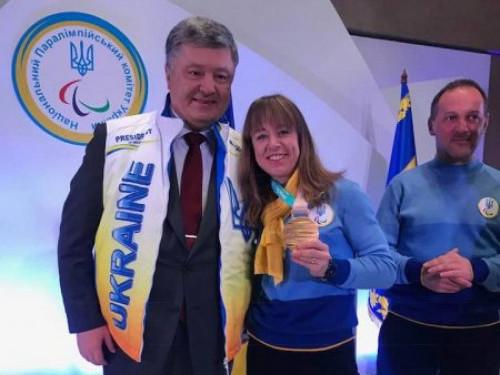 Юлія Батенкова-Бауман з Президентом України
