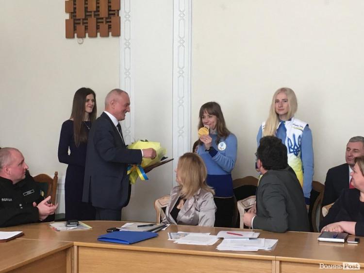 Голова Волинської ОДА і Юлія Батенкова-Бауман