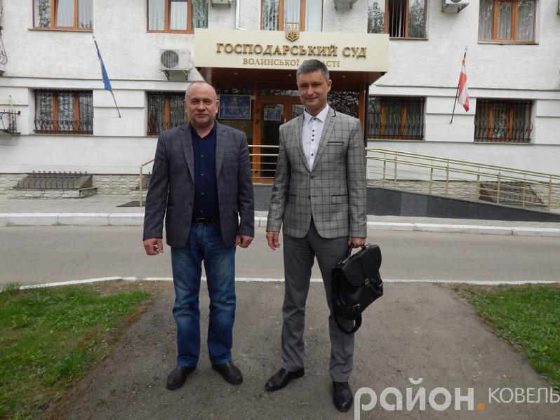 Володимир Пархонюк на фото – зліва