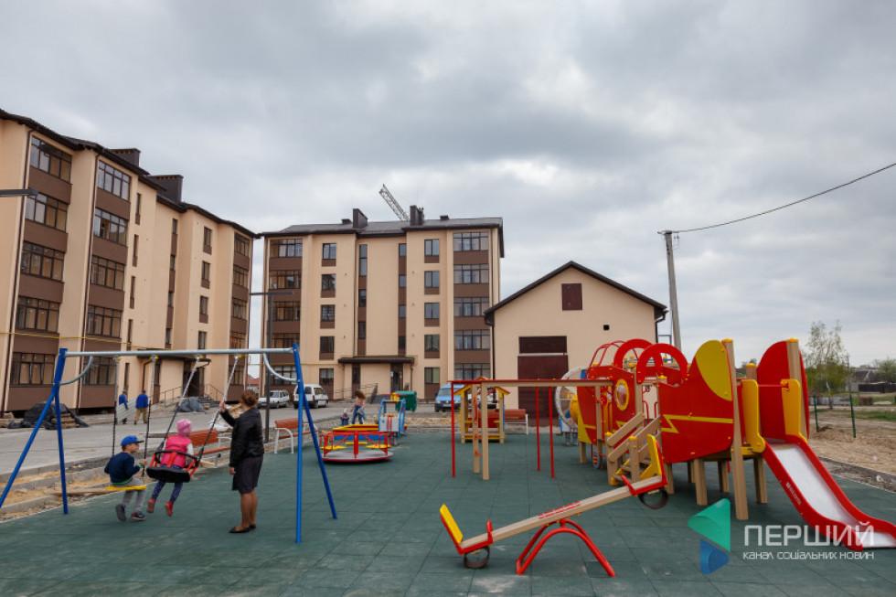 Прибудинкова територія ЖК «Парковий квартал»