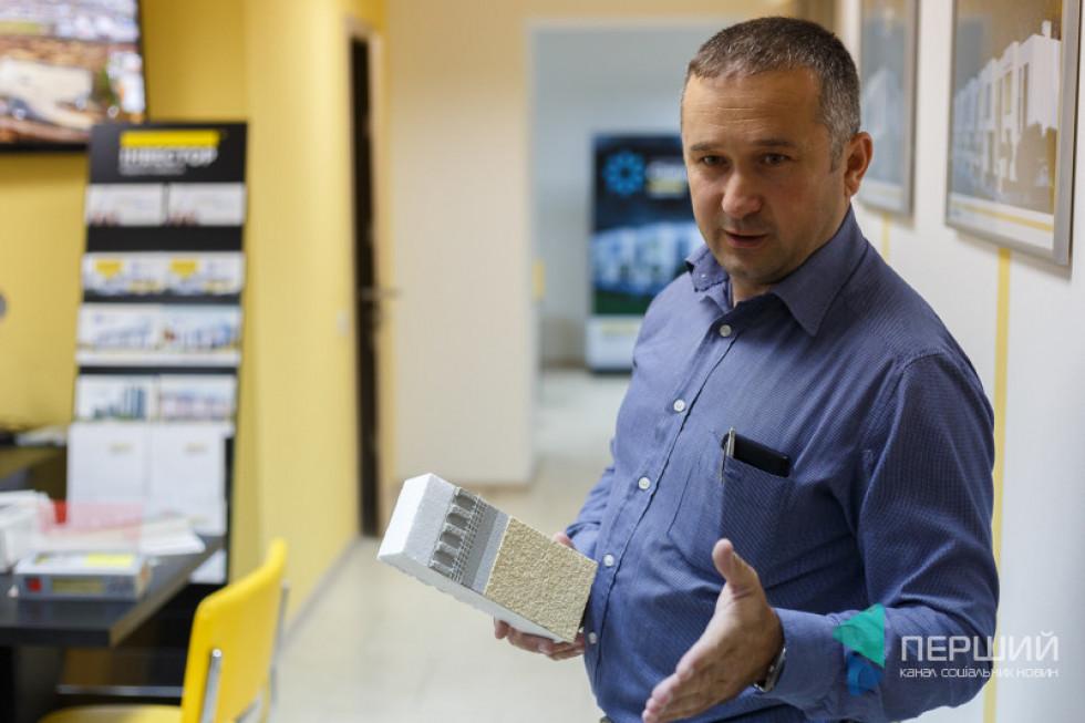 Менеджер з продажу фарби Baumit Віталій Бейба