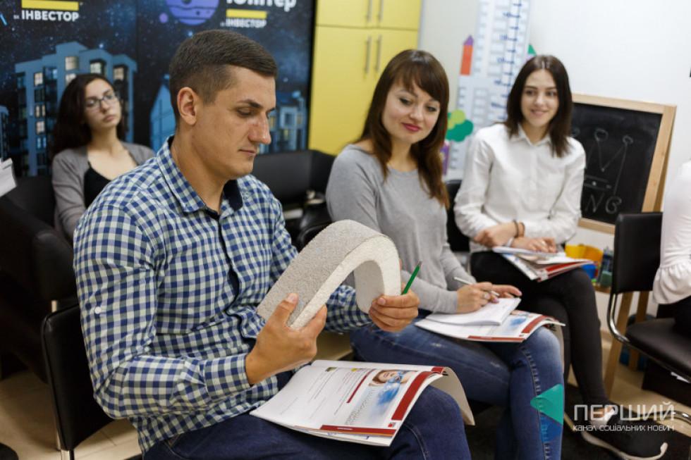 Працівники «Інвестора» під час навчання
