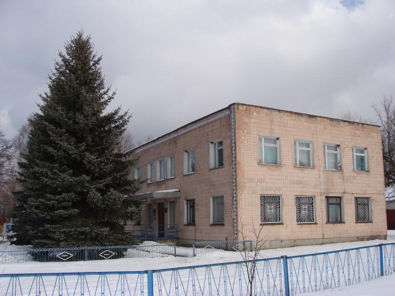 Адміністративний будинок Поворської сільської ради