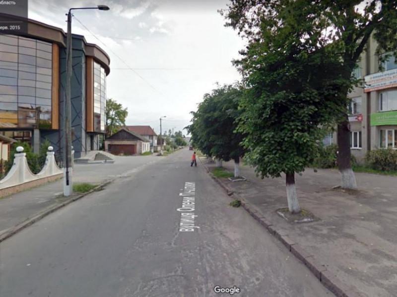 Вулиця Олени Пчілки