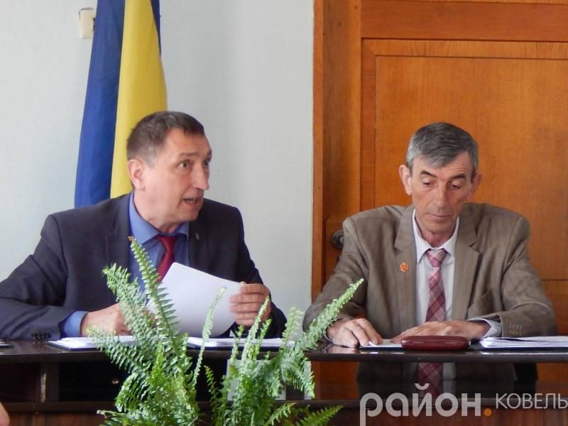 Олег Кіндер і Михайло Гетьман